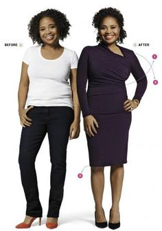 """YOUR COLOR - Can COLOR disguise a """"muffin top"""" and belly fat? Absolutely!  Check it out at yourcolor.us  -Sue"""