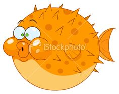 """Buy the royalty-free Stock vector """"Cartoon blowfish"""" online ✓ All rights included ✓ High resolution vector file for print, web & Social Media Under The Sea Images, Cartoon Fish, Free Cartoons, Kids Prints, Free Vector Art, Cute Illustration, Cartoon Drawings, Art Lessons, Painted Rocks"""
