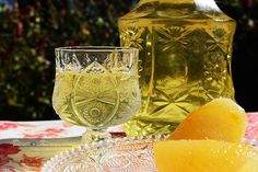 The pleasure of taste Limoncello, Hurricane Glass, Tableware, Lemon, Drinks, Drinking, Dinnerware, Beverages, Tablewares