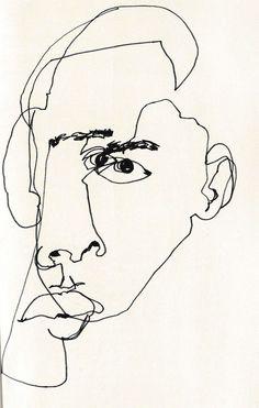 «La última bebida de Sócrates» por Rosa Porcel. Imagen: February James «Blind Contour Line Drawing».
