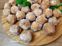 Pączki drożdżowe bardzo stary i sprawdzony przepis - Swojskie jedzonko Pretzel Bites, Food And Drink, Bread, Kitchens, Breads, Bakeries