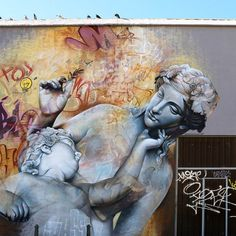 Wicked wall by PichiAvo in Valencia.