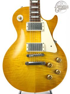 Gibson Custom Shop 2011 Historic 1958 Les Paul Figured VOS (Lemon Drop)(中古・ヴィンテージ)ITM0660626【Jギター楽器詳細|Gibson】