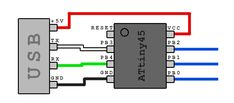 microcontroller - Firmware & Circuit of direct USB Connection - Electrical Engineering Stack Exchange Electronics Projects, Hobby Electronics, Electronic Circuit Projects, Arduino Projects, Electronic Engineering, Electrical Engineering, Esp8266 Arduino, Arduino Programming, Componentes Smd