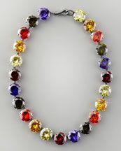 Bottega Veneta Crystal Necklace