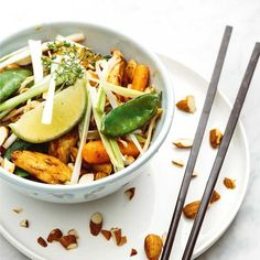 Jamie Oliver, Wok, Dinner, Cooking, Broccoli, Ethnic Recipes, Seeds, Baking Center, Food Dinners