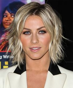 Julianne Hough Hairstyle - Casual Medium Straight