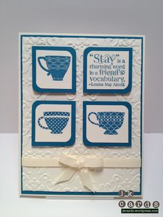 Stampin' Up! 2012 Occasions Mini, Tea Shoppe, Vintage Wallpaper