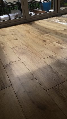 Solid Oak floor we fitted