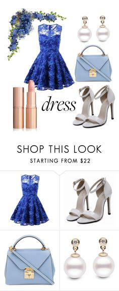 """""""dreamy dress"""" by saraasecci on Polyvore featuring Mark Cross"""
