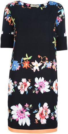 ETRO Flower Print Dress - Lyst