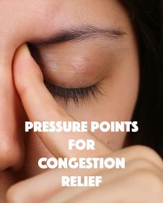 8 Pressure Points Will Help You Relieve Congestion Stuffy nose? Maybe even a headache? Try these eight pressure points to help relieve your congestion! Maybe even a headache? Try these eight pressure points to help relieve your congestion! Remedios Congestion Nasal, Sinus Congestion Relief, Chest Congestion Remedies, Natural Remedies For Congestion, Sinus Remedies, Sinus Headache Relief, Remedy For Stuffy Nose, Congested Nose Remedies, Healthy Life