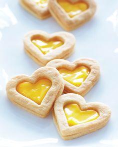 Lemon Curd Filled Sandwich Cookies