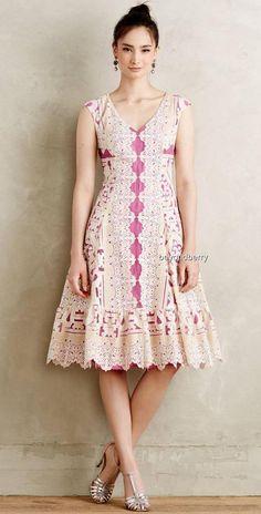 NEW Anthropologie Moulinette Soeurs Versailles Lace Dress  Size 2 & 8P…