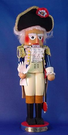 George Washington nutcracker, I can't believe I don't have this! Haha