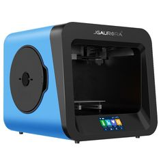 JGAURORA 3D Printer A4 With 4.3inch Colorful Touch Screen Support Power Failure Protection Filament & Runs Out Detection 1.75mm/0.4mm Nozzle