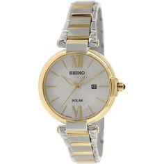 Seiko Women's SUT154 Silver Stainless-Steel Quartz Watch