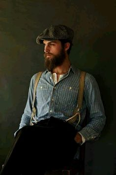 styles de barbe longue