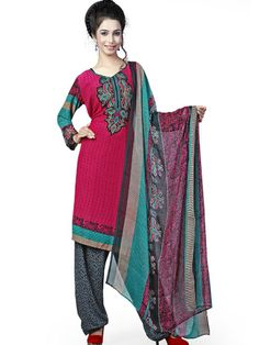 #Salwar Kameez are of a few types. Some of them have a great #designer value attached to it.