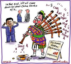 Andrew Mackenzie takes helm at BHP bagpipes business (23 February 2013)