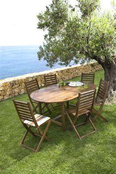 Collection de mobilier de jardin Hyba - Carrefour | Ambiances Jardin ...