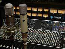 Telefunken mics and an API console.  Amazing gear.  Even an idiot like me could make things sound good with this stuff.