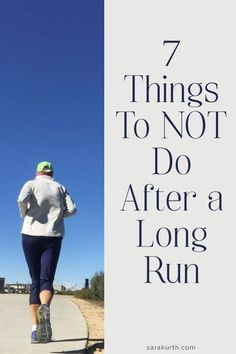 After years of long runs, I have learned (from first-hand experience) what NOT to do. Marathon training long runs take a lot out of you, both mentally and physically. On the blog: a few things you should NOT do after a marathon training long run. Running. Marathon Training. Long Run. Marathon Training Long Run. Half Marathon Tips, Half Marathon Motivation, Running Half Marathons, Half Marathon Training Plan, First Marathon, Marathon Running, Running Motivation, Running For Beginners, How To Start Running