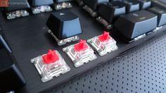 Interrupteurs Cherry MX Red RGB