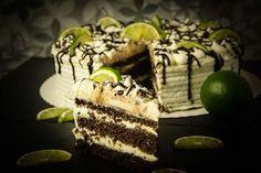 Schoko-Limetten-Torte - Low Carb - glutenfrei