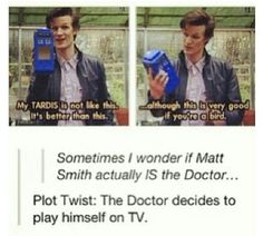 Yes! ~Doctor who