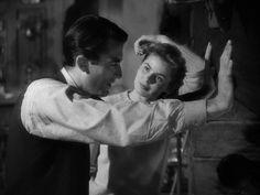 Spellbound (1945)  #gregorypeck #ingridbergman #hitchcock