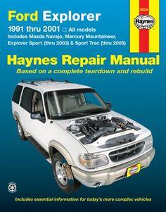 Bestseller Books Online Ford Explorer 91-01, Explorer Sport Thru 03, Sport Trac 05 (Haynes Repair Manual) John H. Haynes, Jay Storer $17.79  - http://www.ebooknetworking.net/books_detail-1563925915.html