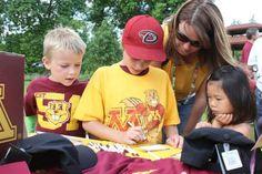 Minnesota Golden Gophers Football vs. UNLV Rebels Football Minneapolis, MN #Kids #Events