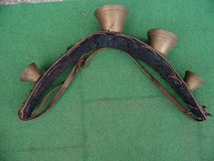 Antikes Geläut Ochse Ziege Pferd um 1800 Handarbeit Museal