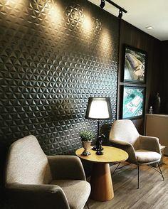#ceramicaportinari • Fotos e vídeos do Instagram. Produto Cerâmica Portinari, Diamante Negro Matte. Salas, Rooms
