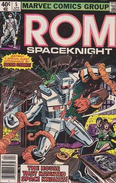 ROM Spaceknight #5 / Rom reminisces of his lost love Ray-na.