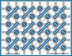 Crossed Mosaic Stitch