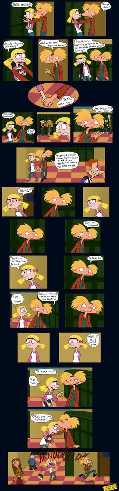 Hanging Out - Hey Arnold comic by helgoth11.deviantart.com on @deviantART