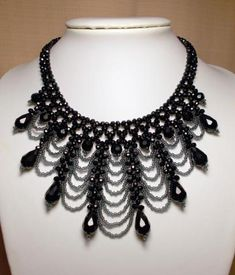 beaded necklace....very pretty