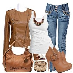 Brown Faux shirt, brown boots, brown out, Autumn Outfit.