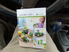 John Deere Ertl Toy booklet for 2014 we got at Tri Green Tractor in Flora