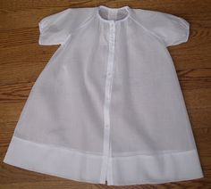 The Old Fashioned Baby Sewing Room: Sewing a Baby Daygown - The Beginning