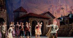 Laurencia - Ekaterin - Laurencia - Ekaterina Borchenko and Mikhail Venshchikov (Rus. Михаил Венщиков) --- #Theaterkompass #Theater #Theatre #Tanztheater #Ballett