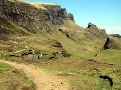 The Quiraing Walk on the Isle of Skye in Scotland