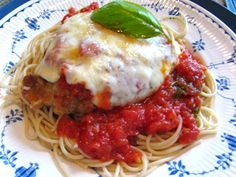 Palm's Restaurant Recipe for Chicken Parm and Marinara, with their secret ingredient…Munster Cheese!