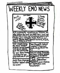 Latest subscription for emo weekly