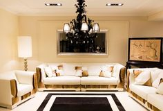 living room or basement