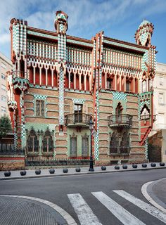 CASA VICENS, Gaudí (Gaudího prvý dom, koniec 19. st.)