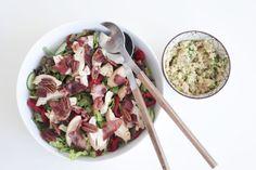 IMG_8806 Pasta Salad, Risotto, Potato Salad, Potatoes, Ethnic Recipes, Food, Crab Pasta Salad, Potato, Noodle Salads