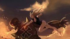 anime girls fight hd wallpapers, anime girl fight wallpaper, anime girls fight wallpapers